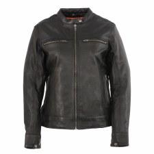 Ladies Lightweight Leather Jkt
