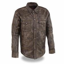 Men's Lightweight LeatherShirt