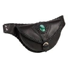 Ladies Agate Belt Bag Black