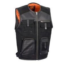 Men's Fishermen Vest Black