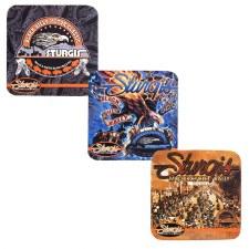 SturgisMC Rally Coasters 6Pack