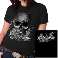 Sturgis Ladies Bandana Skull