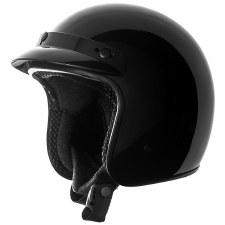 SS610 3/4 Helmet Gloss Black