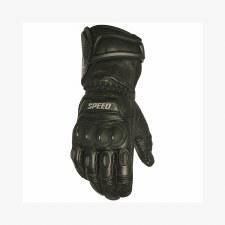 Revolt Leather Glove Black
