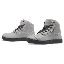 Ladies Jezebel Moto Shoe Grey