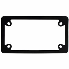 License Plate Frame Bk
