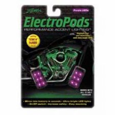 ElectroPod Rectangle Blk/Purp