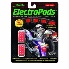 LED Lightpod Brakes Chrome/Red