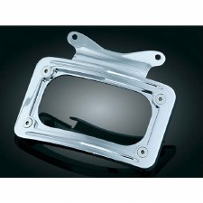 Curved License Plate Mount