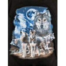 Howling Wolf On Ridge