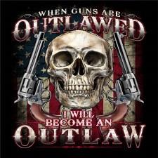 Outlaw Gun/Skull