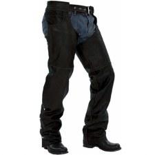 Jean Pocket Chaps Black