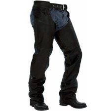 Jean Pocket Chaps Black