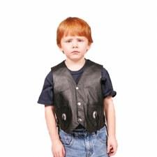 Kid's Leather Vest