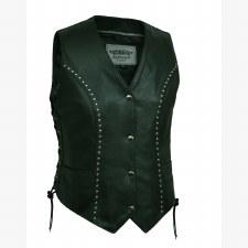 Studded Vest W/ConcCarryPocket