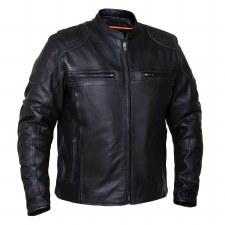 Men's Euro Collar Jacket Black