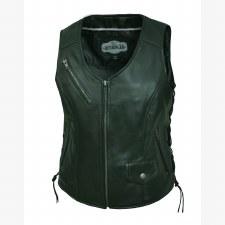 Ladies CC Lambskin Vest