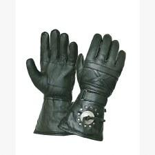 Gauntlet Gloves W/Conchos
