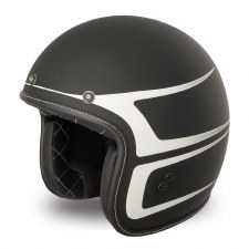 Helmet 38 Scallop Black/White