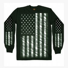 Men's LS T-Shirt US Flag