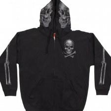 Men's Jolly Roger Skull Hoodie