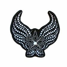 Helmet Bling Winged Star Bk