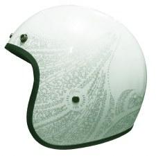 Bobber 501 Aurora HelmetSilver