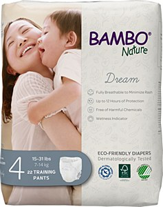 Bambo TPants Sz4 (15-31lb) DRM