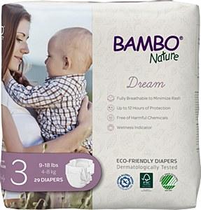 Bambo Diaper Sz3 (9-18lb) DRM