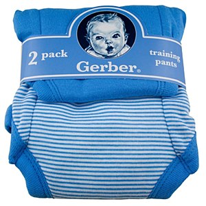 Gerber T-Pants Blue 18M 2pk