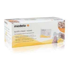 Medela Quick Clean Wipes 40 individual