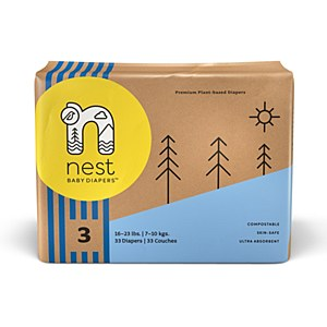 Nest Diapers Size 3 (16-23lbs)
