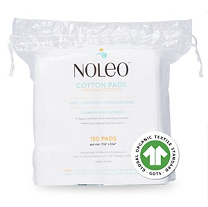 Noleo Organic Cotton Pads (150 count)