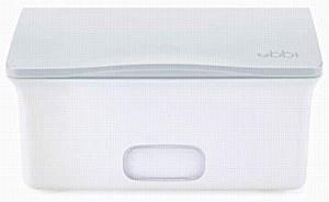 Ubbi Wipe Dispenser Gray