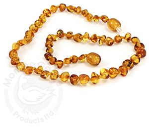Baltic Amber Baby Necklace Sm Honey