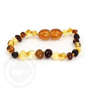 Baltic Amber Adult Bracelet Multi Color