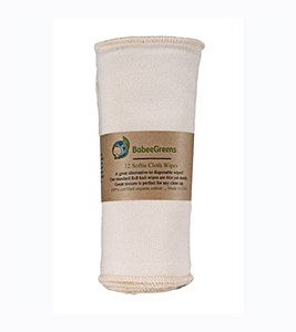 Babee Greens Organic Cotton Wipes