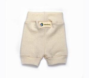 Babee Greens Natrual Wool Shorties, Medium