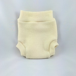 Babee Greens Natural Wool Pull-on Diaper Cover, Small (8-18lbs)