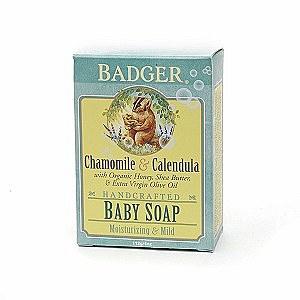 Badger Baby Soap, Chamomile & Calendula