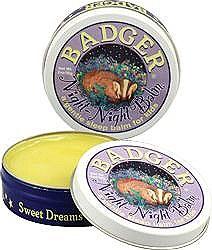 Badger Night Night Balm, 2oz Tin