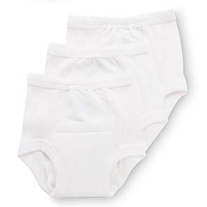 Gerber T-Pants 18M White 3pk