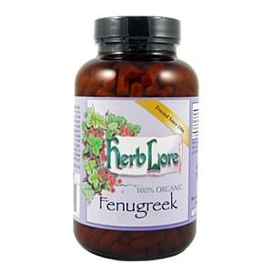 Herblore Fenugreek Caps, 200 count