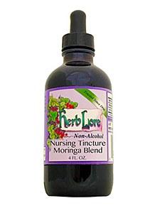 Herblore Nursing Tincture Moringa Blend 4oz.