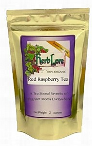 Herblore Red Raspberry Leaf Tea 2oz.