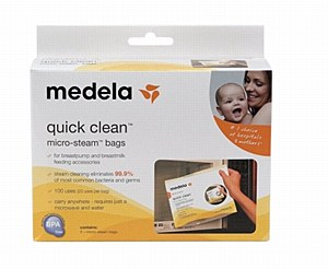 Medela Quick Clean Bags
