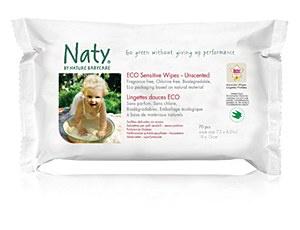 Naty Wipes 56ct (Sens w/Aloe)