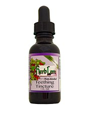 Herblore Teething Tincture Non-alcoholic, 1oz