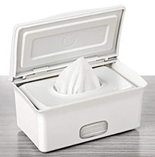 Ubbi Wipe Dispenser White
