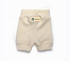 Babee Greens Natrual Wool Shorties, Small
